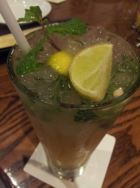 Special Mojito @ T.G.I.F - Photo by the author