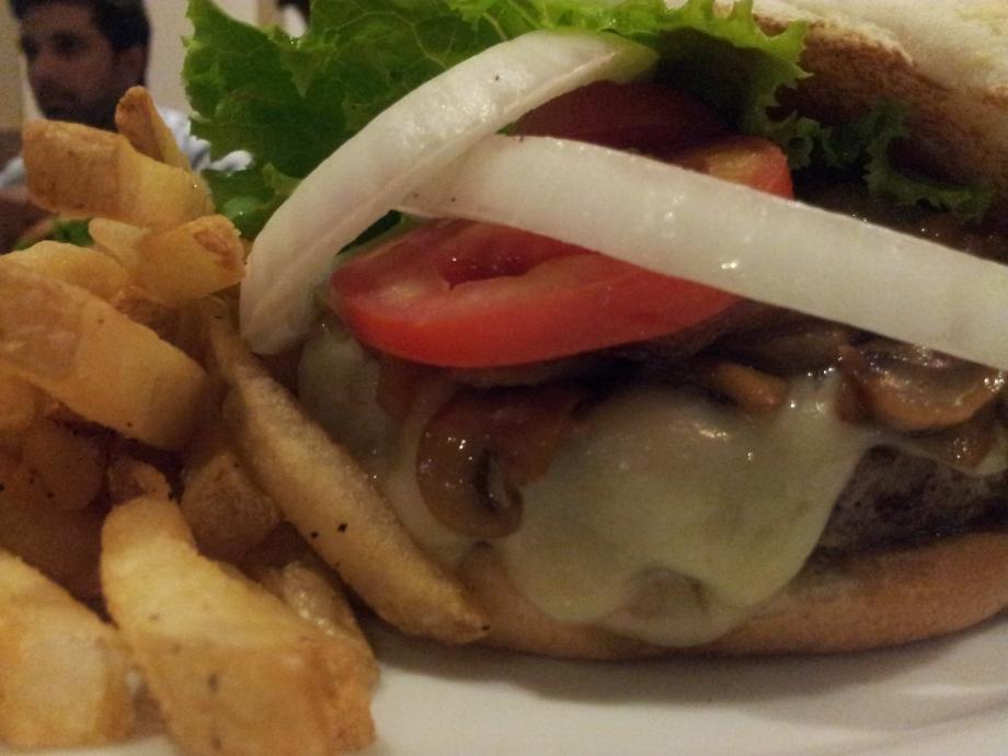 Mushroom Onion Swiss Burger - T.G.I.F