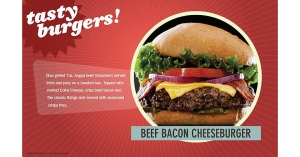 Beef Bacon Cheese Burger